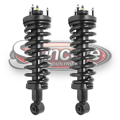 2003-2011 Lincoln Town Car Front Suspension Pre-Assembled Coil Springs & Struts