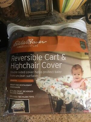 Eddie Bauer reversible cart and highchair cover
