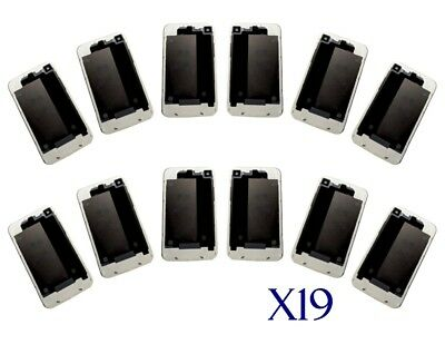Lot of 19 White iPhone 4 Back Glass Battery Cover Replacements