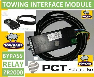 Towing Bypass (Interface Module) Relay PCT ZR2000 7 Way Universal Smart relay