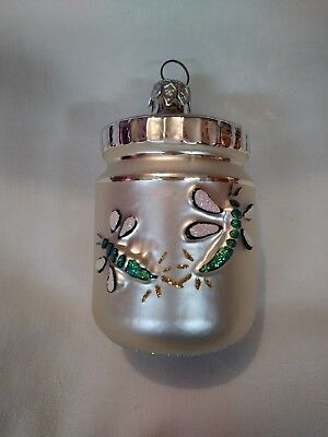Patricia Breen Christmas Ornament Firefly Jar 3.5 inches