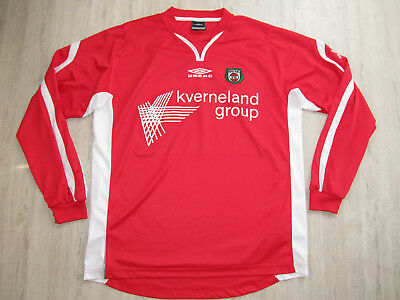 Bryne FK Norwegen Fußball Trikot Norway Football Shirt Jersey UMBRO XL