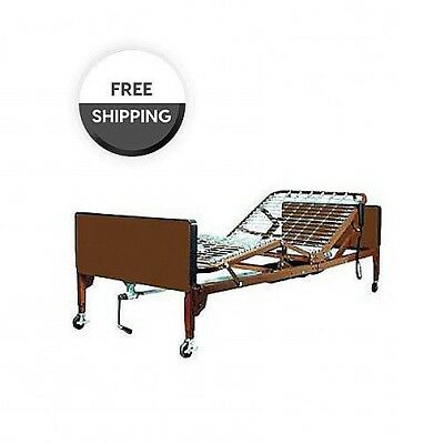 PMI Semi Electric Bed Package With Mattress, Bed Rails