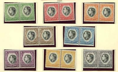 SOUTH WEST AFRICA 1937 George VI & Queen Elizabeth Coronation set MLH