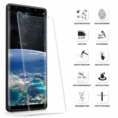 Case Friendly Tempered Glass Screen Protector For Samsung Galaxy S8 S9 S10 NOTE