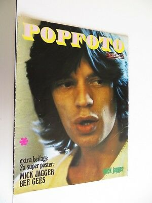 Popfoto Musik Magazin - 10/1972 - The Who, Marc Bolan, Slade u. a.