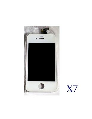 Replacement LCD Digitizer LED Touch Screen iPhone 4 - Lot of 7