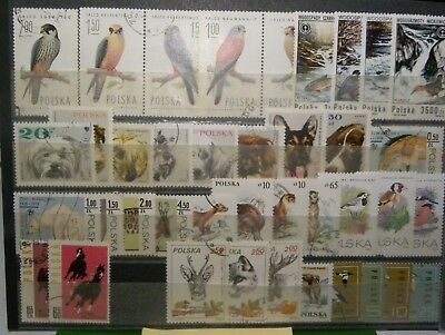 Briefmarken Lot Polen Tier Motive Nr.: 2007
