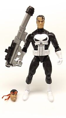 "Marvel Legends 6"" Inch Vintage Retro Classic Punisher Loose Complete"