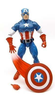 "Marvel Legends 6"" Inch Vintage Retro Classic Captain America Loose Complete"