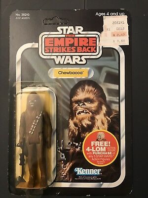 STAR WARS Empire Strikes Back CHEWBACCA Kenner Action Figure 47B POP Cut