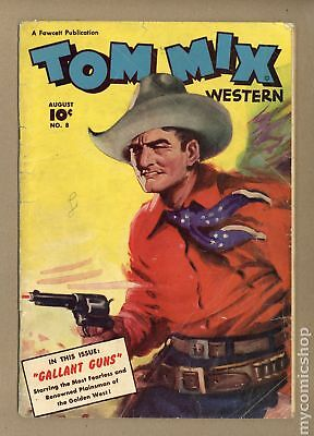 Tom Mix Western (Fawcett) #8 1948 FR/GD 1.5