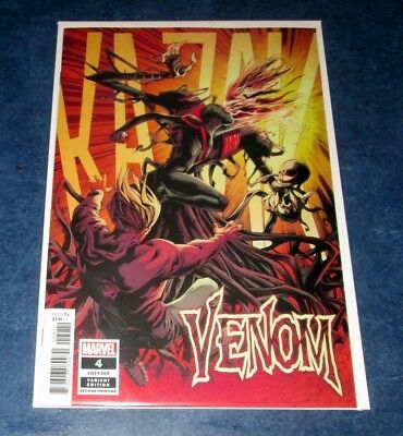 VENOM #4 variant 2nd print RYAN STEGMAN DONNY CATES MARVEL 1st full KNULL app