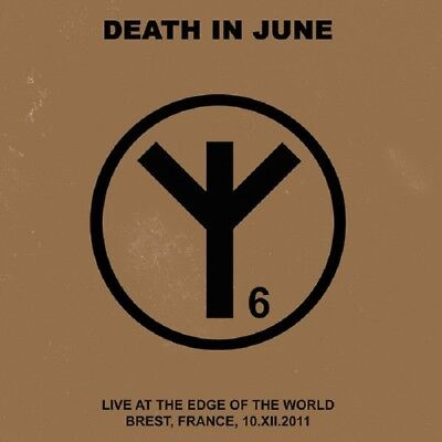 """DEATH IN JUNE Live at the Edge of the World - CD + 7"""" / Blue Vinyl (2018)"""