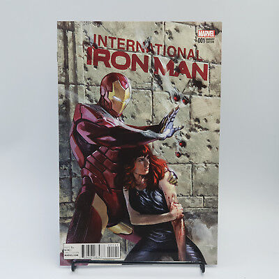 International Iron Man #1 Marvel Comics Variant Cover by Dell'Otto