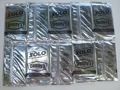 Denny's Solo Star Wars Limited Exclusive Foil Packs! $3 MSRP Per Pack
