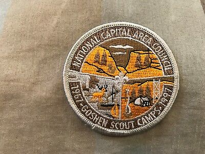 Boy Scout Camp Patch - NCAC 1997 Goshen Scout Camps 30 yr anniversary
