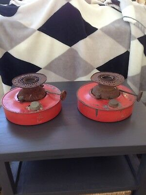Vintage Industrial Kerosene Lamp X 2      Pick Up Greensborough