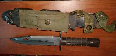 Us Army Issue Usa Made Phrobis Iii M9 Bayonet With Sheath