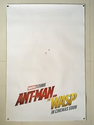 Ant-Man and the Wasp | original DS movie poster 27x40 INTL | Marvel Teaser