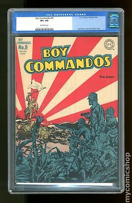 Boy Commandos (1st Series) #9 1944 CGC 8.5 0017179010