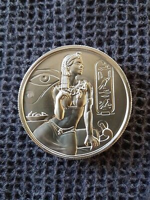 2oz Cleopatra Ultra High Relief .999 Fineness Silver Round.