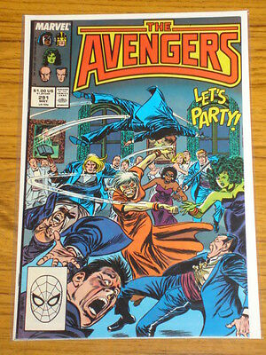 Avengers #291 Vol1 Marvel Comics May 1988