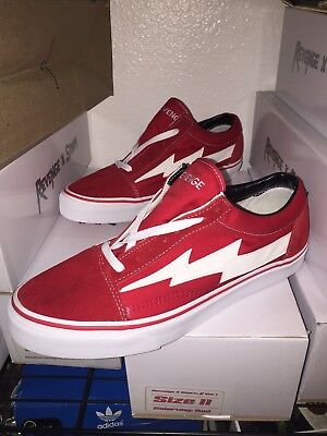 0ff0edc0a34c48 REVENGE X STORM Low-cut SNEAKER IAN CONNOR Red US 11 DS LIMITED RED ...