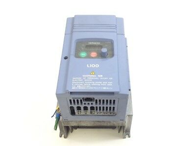 Hitachi L100 -022NFE Frequenzumrichter 1-360Hz 200-240V 3Ph 10.0A