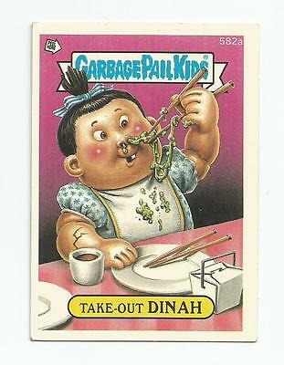 Take-Out Dinah 582a Garbage Kübel Kinder GPK Original Series 15 Karte 1988