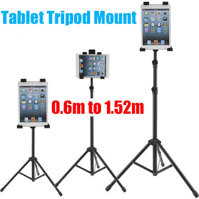 For iPad 1 2 3  Tripod Stand Holder Bracket Tablet FLOOR MOUNT Adjustable