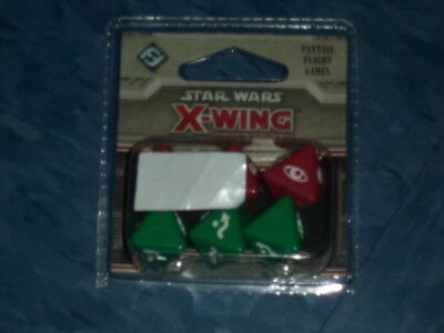 Star Wars X-Wing Dice Pack Expansion Pack Miniatures Board Game New