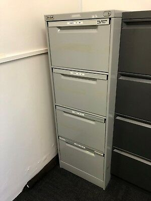 Elite 4-drawer filing cabinet – lockable - Moving Clearance