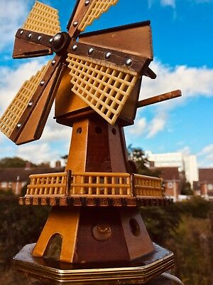 Collectable Antique Musical Box Windmill
