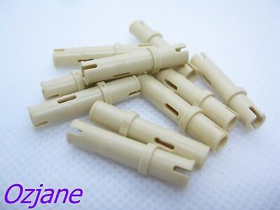 20 x LEGO Technic 32002 Connecteur beige, tan Connector Pin 3//4 NEUF NEW