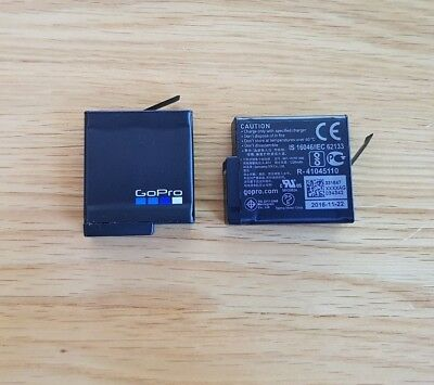 2 x GoPro Hero 5 or 6 genuine battery