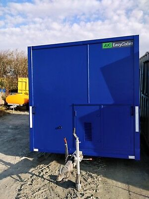 AJC 6 man 12ft towable lowering welfare unit site office cabin toilet £5999+vat
