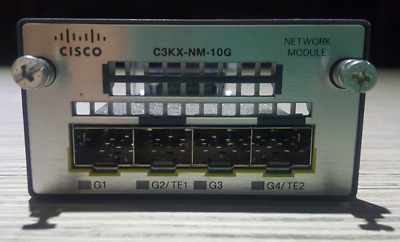 Cisco Expansion network module C3KX-NM-10G 3750X 3650X