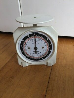 Vintage Persinware Scale In Pounds