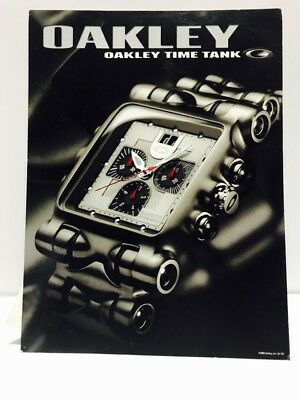 2f0a282399 Oakley Minute Machine Time Tank POP Full Size Display Card Stand Rare Item