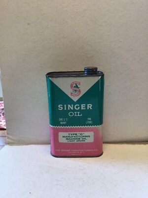VINTAGE SINGER SEWING MACHINE OIL CAN 40s 40s £4040 PicClick UK Mesmerizing Singer Sewing Machine Oil Uk