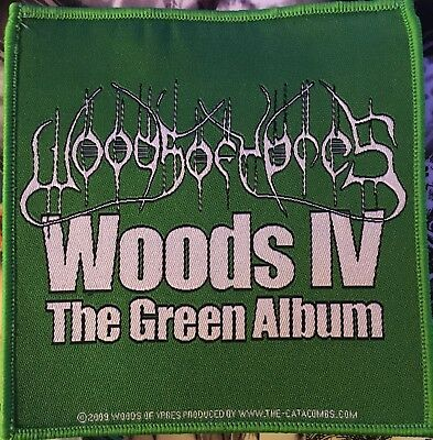 "Woods Of Ypres ""Woods IV"" The Green Album - Patch"