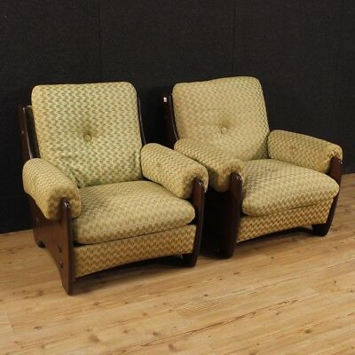 Armchairs living room chairs couple furniture italian design Rossi di Albizzate
