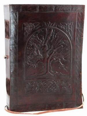 Leather Journal Notebook Diary Book Writing Pads Office School Supplies Notepad