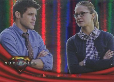 Supergirl Season 1 Rainbow Foil Base Card #35 What is Toyman Planning?
