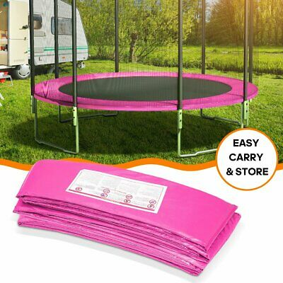 Safety Pad Mat Round Pad Cover Replacement for 10'/12'/14'/15' Trampoline Frame