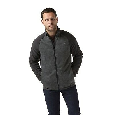 Craghoppers Mens Alford Fleece Jacket Dark Grey Cmn225
