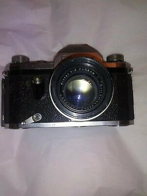 Vintage Zeiss Ikon Contax Camera With Lens