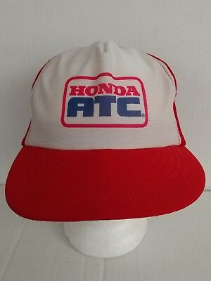 Vintage HONDA ATC Mesh Snapback Trucker Hat Cap SEMCO Made In USA