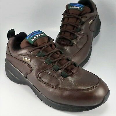 17fdec68d LL BEAN KNIFE Edge Hiking Boots Brown Leather Gore-Tex Trail Mens ...